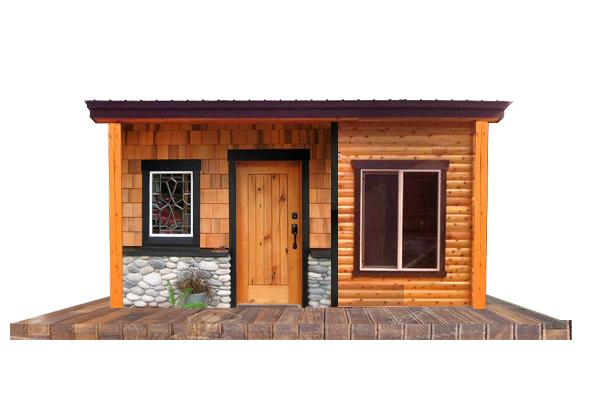 Create you own Tiny Home front facade