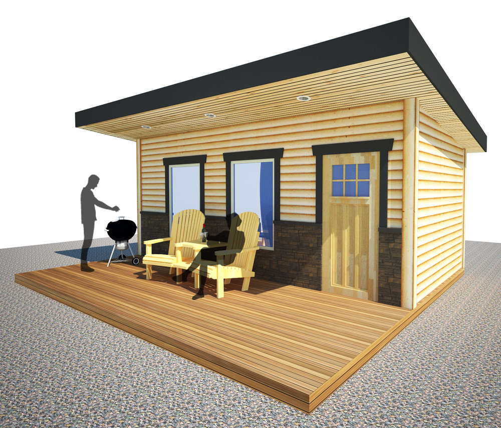 The 10x20' Tiny Home B&B - EXT
