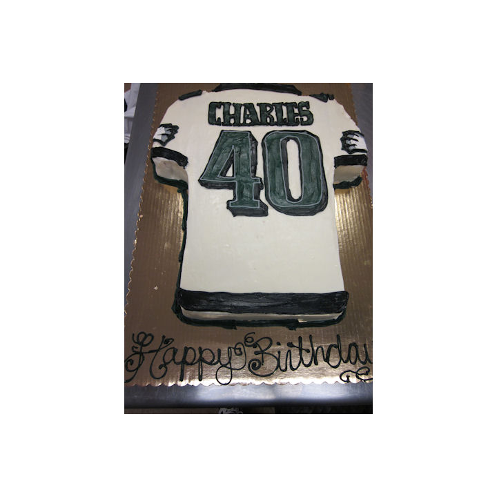 Go Eagles! Birthday Cake