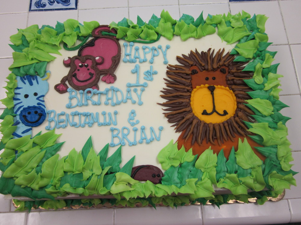 Jungle Pals In Buttercream Jungle