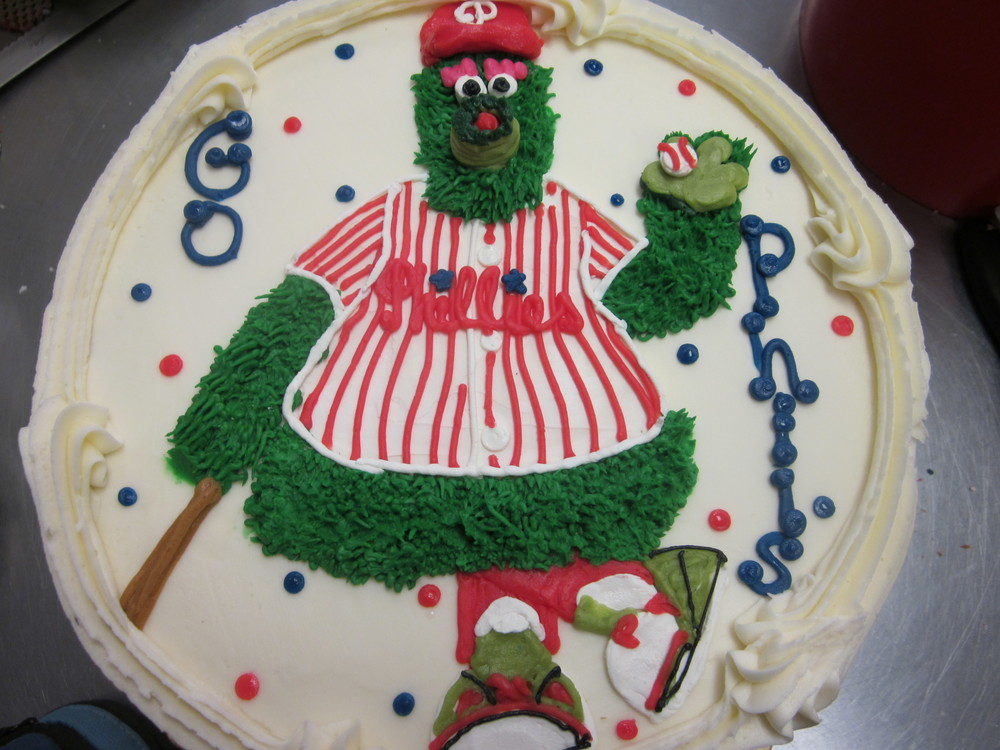 Philly Phanatic Birthday Cake