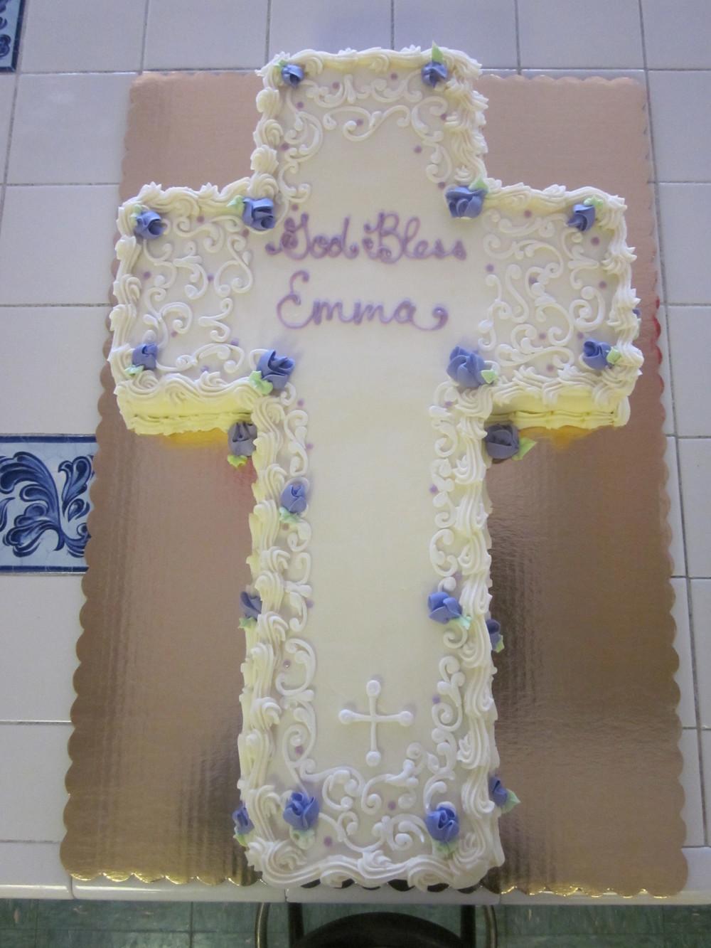Ornate Baptism Cross 037