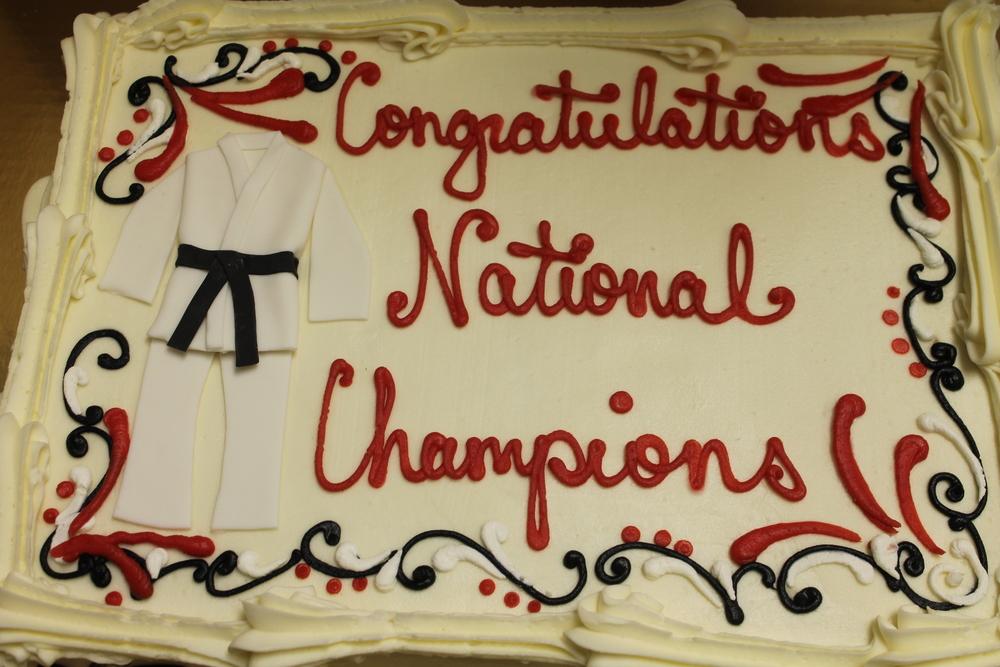 Judo Champs Sheet Cake