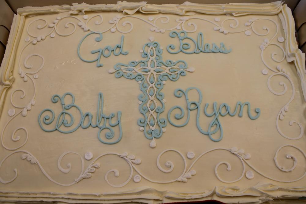 Blue Filigree Cross 046