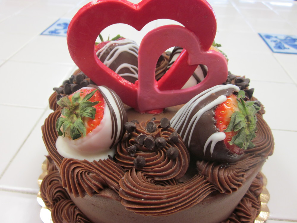Stacy's Sweetheart Cake
