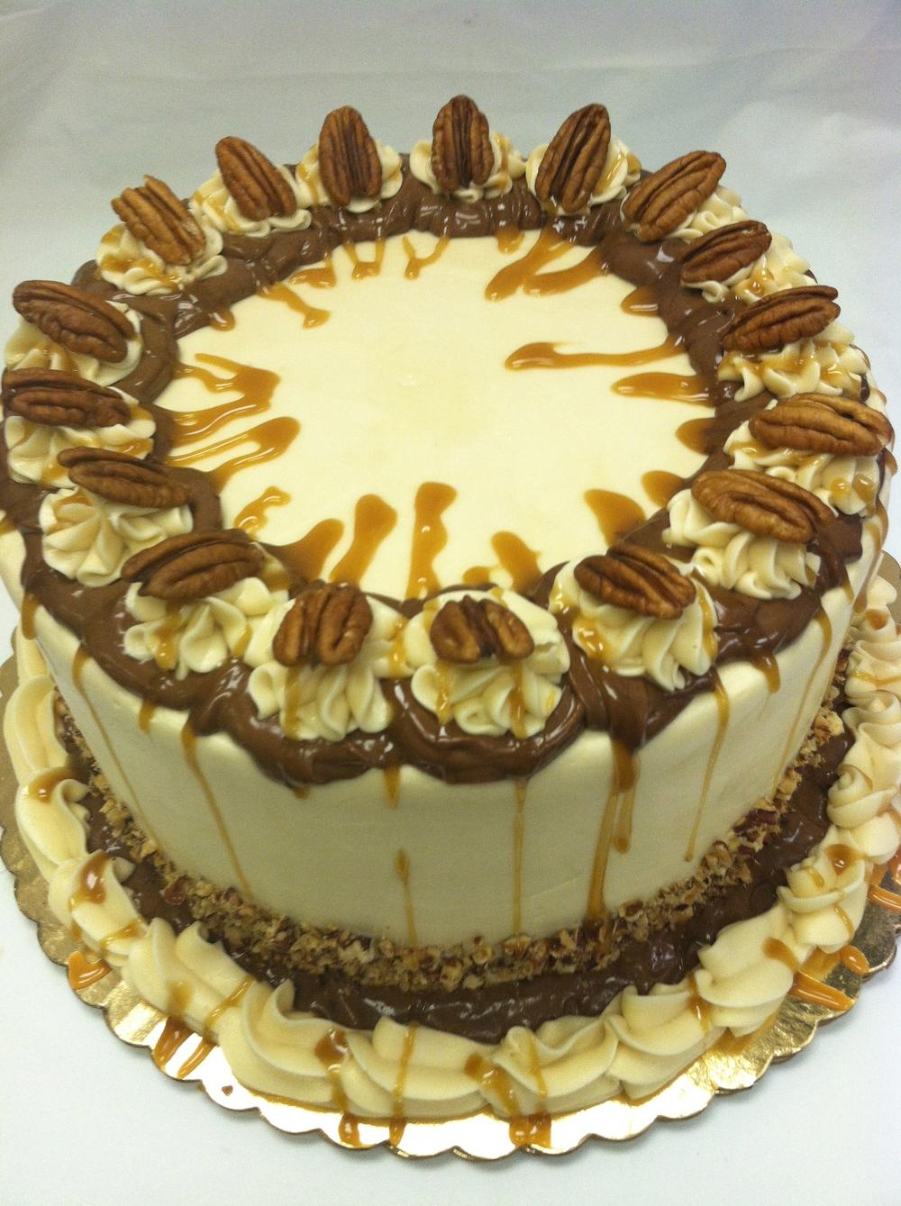 Dan's Turtle Cake