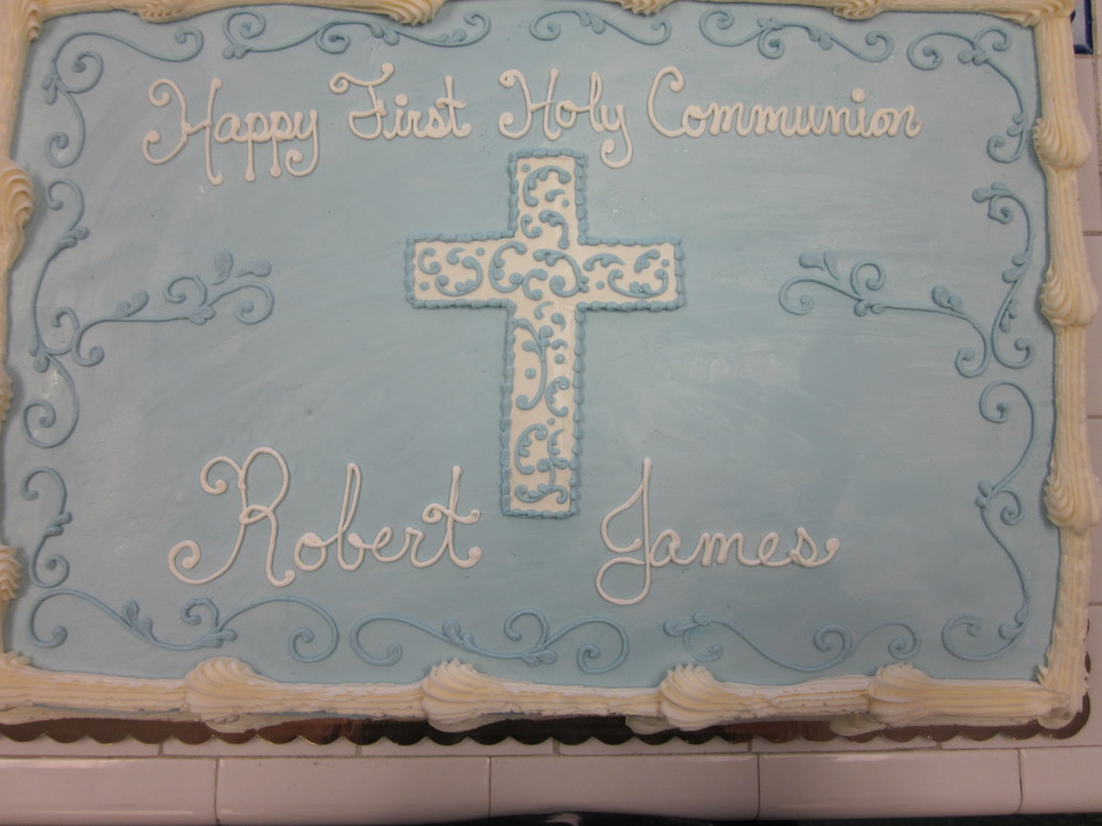 First Holy Communion Cake Photos and Pictures Delaware County PA