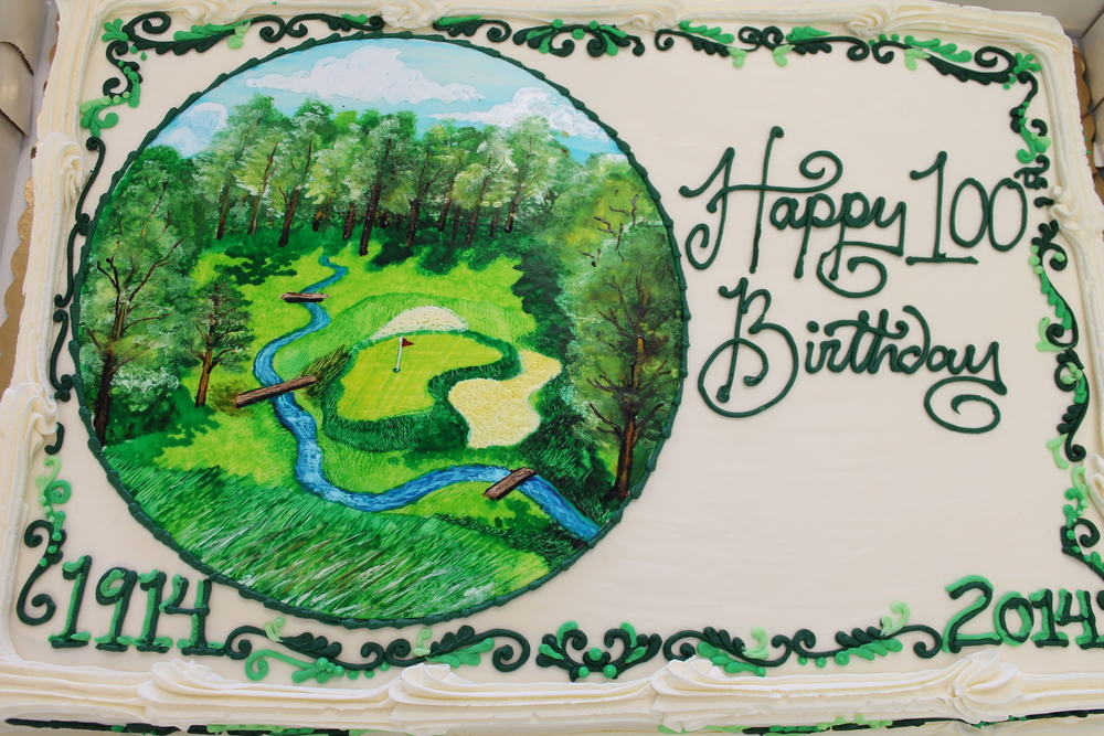 Merion Golf Club Anniversary Cake