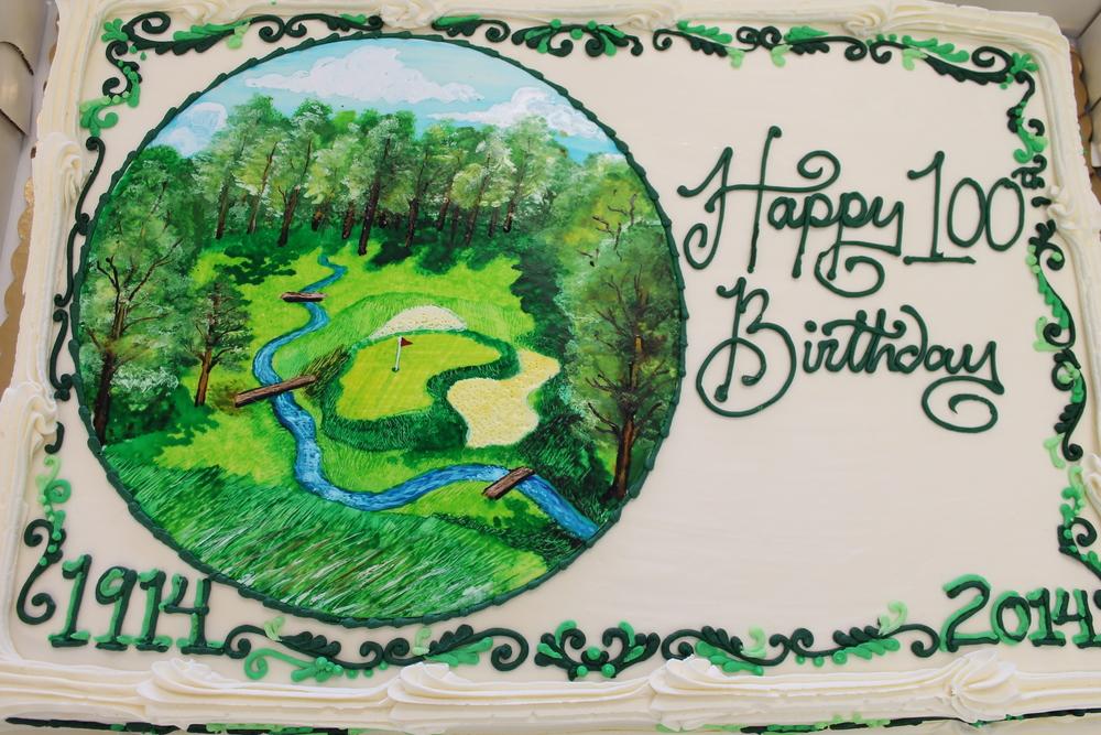 Merion Golf Club Anniversary Cake