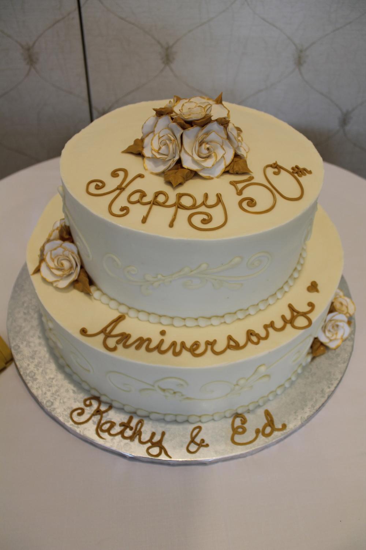 50 Years Celebration Cake
