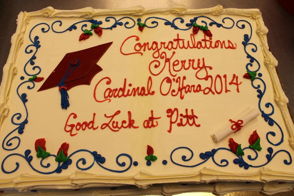 O'Hara Graduation Cake #2