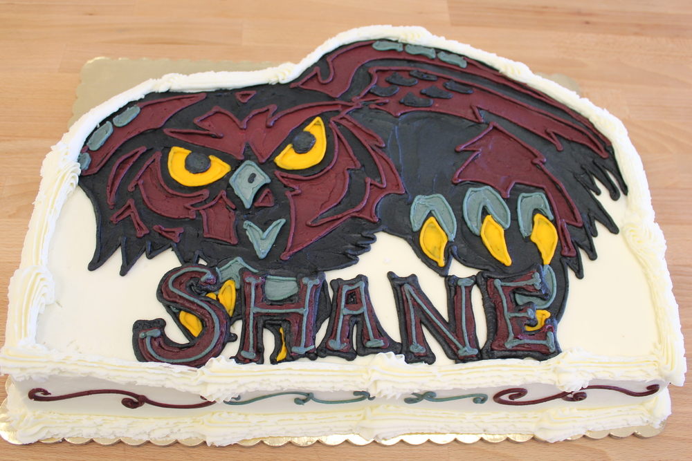 Temple Owl Graduation Cake