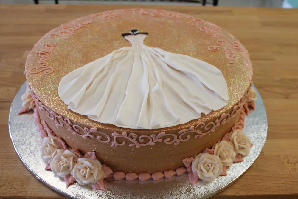 Sparkling Wedding Gown