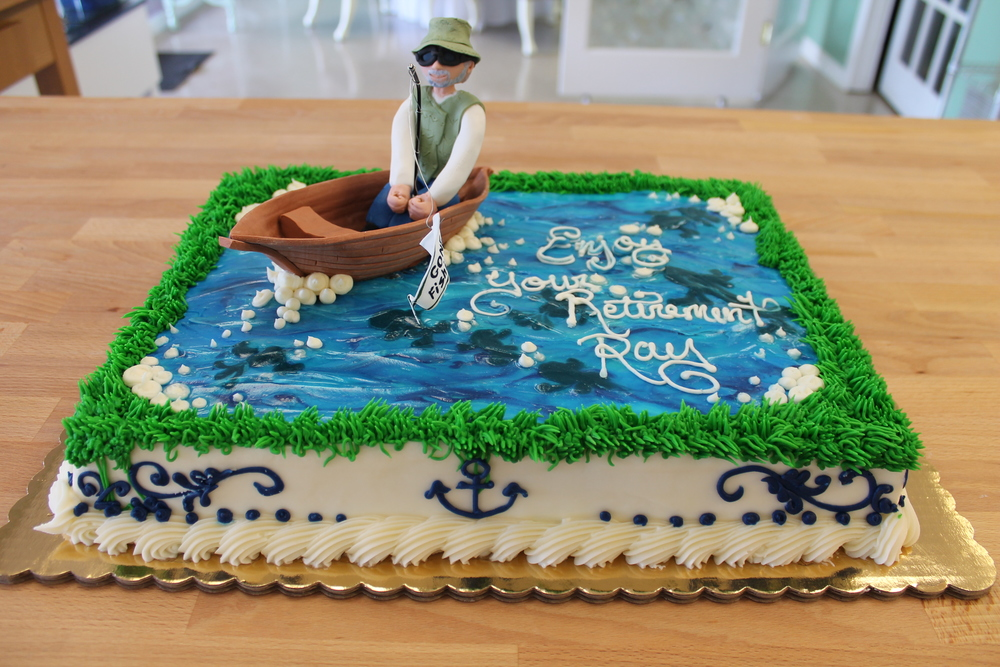Retirement Celebration Cake
