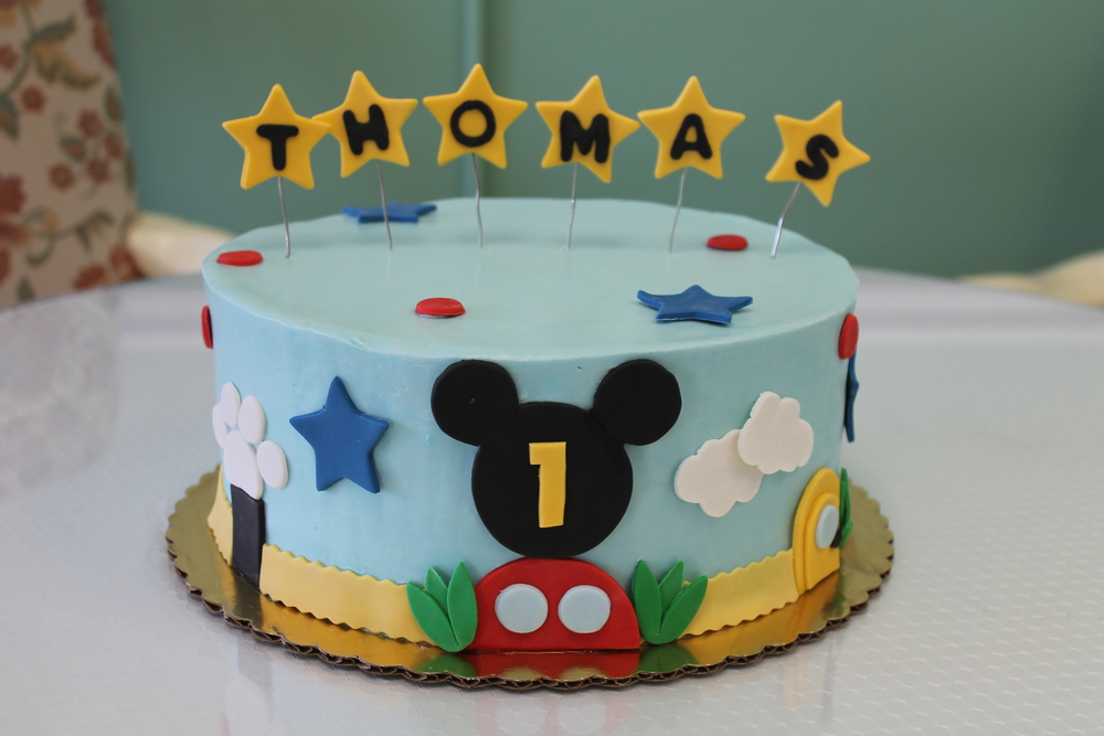 Thomas's Magical Birthday Cake