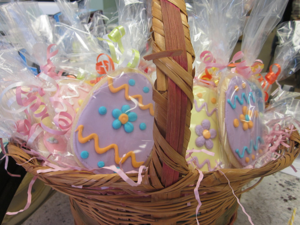 Easter Basket Of Cookies