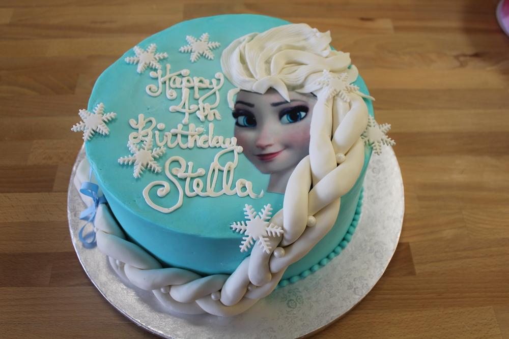Stella's Frozen Birthday!