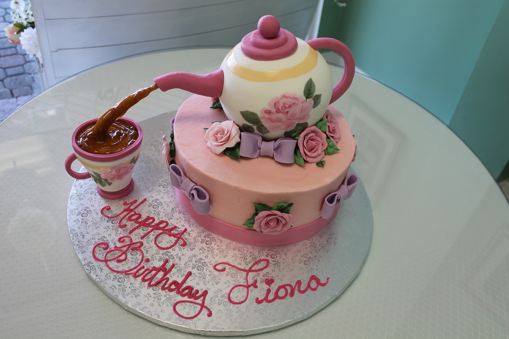Tea Party for Fiona Cake
