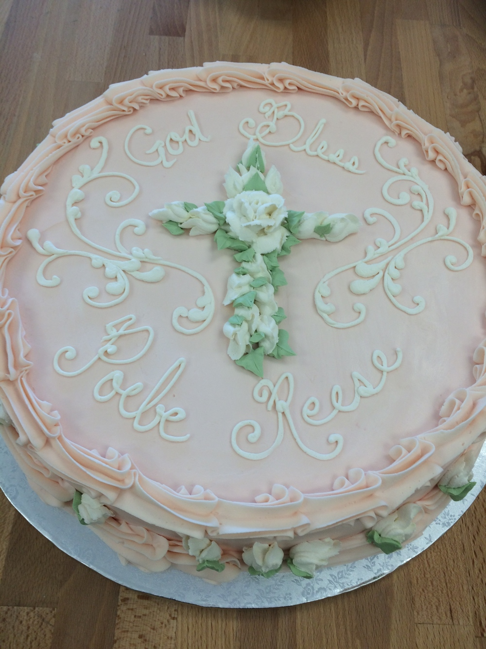 Cross of Roses Cake