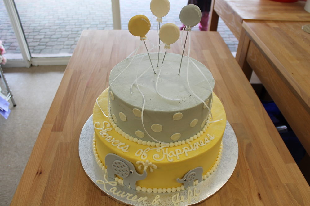 Balloons For Baby Cake