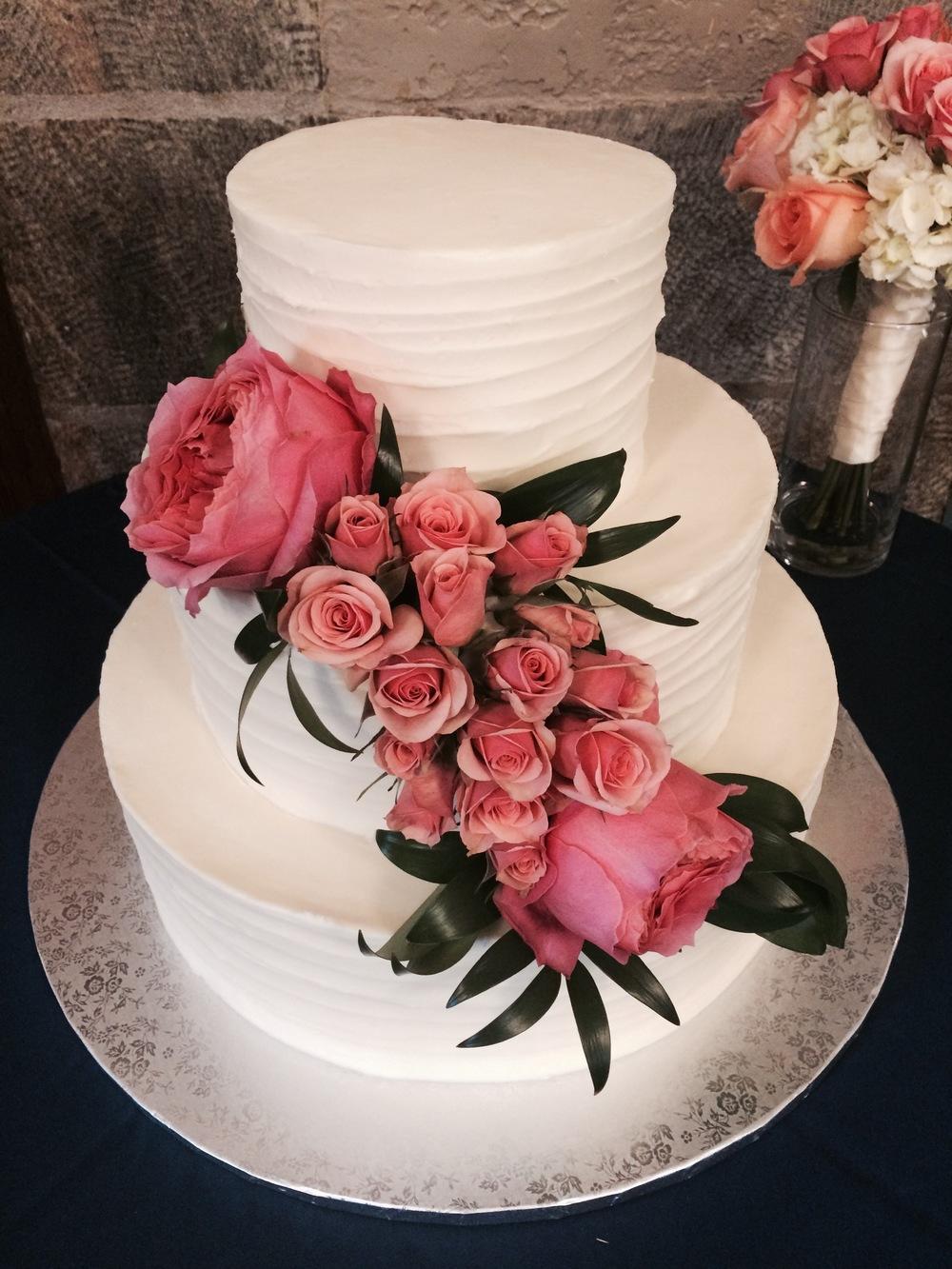 Garden Roses For A Wedding