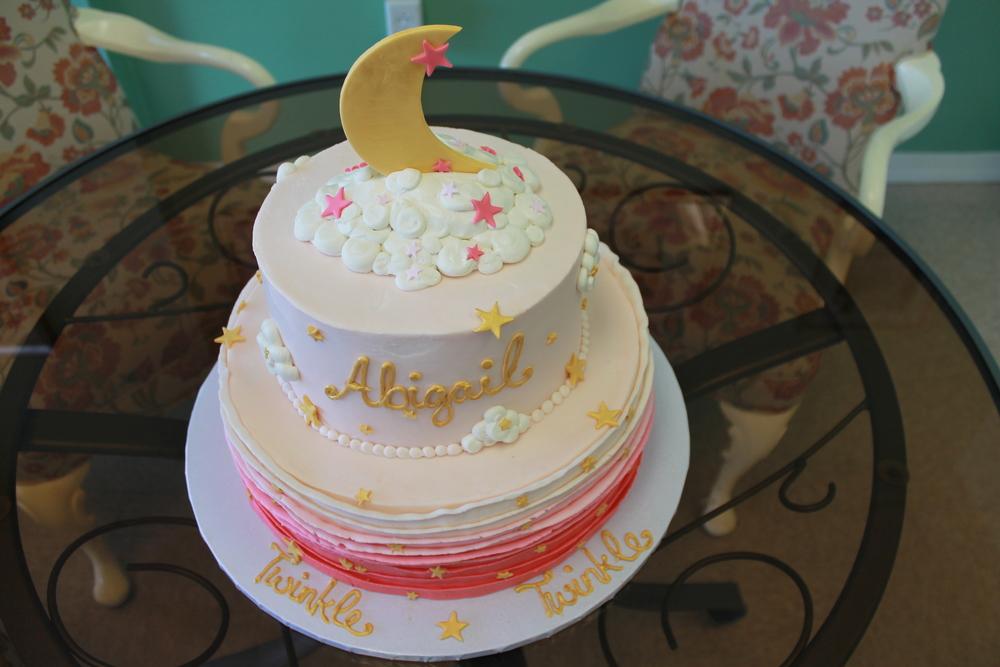 Twinkle Twinkle Shower Cake