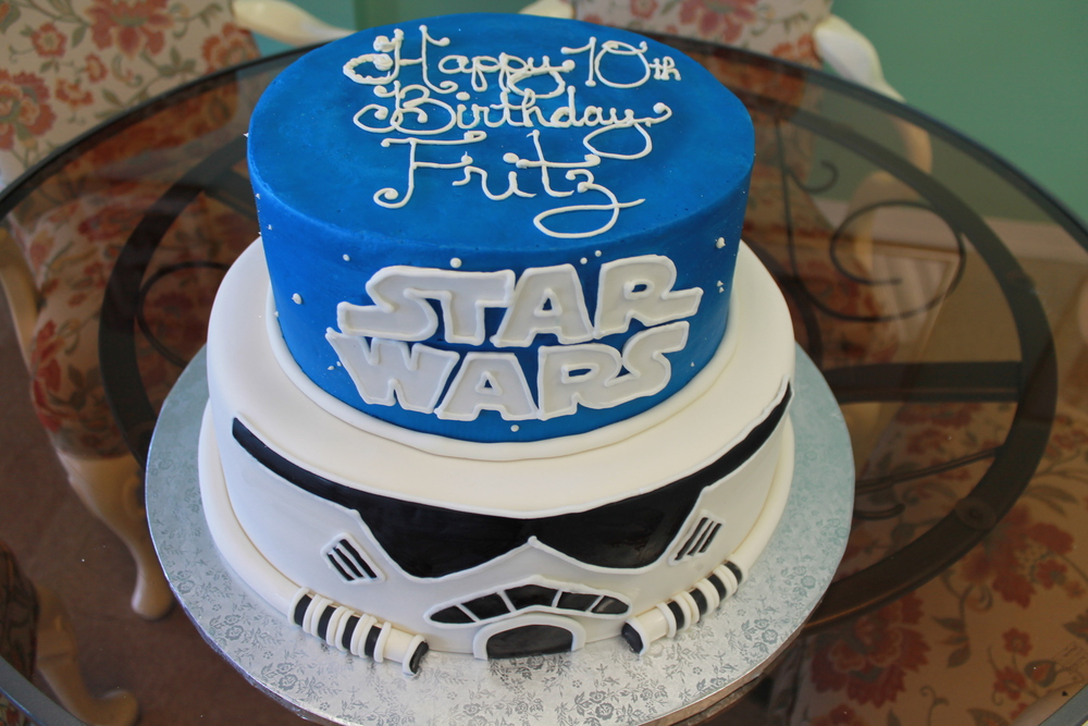 Storm Trooper Birthday Cake