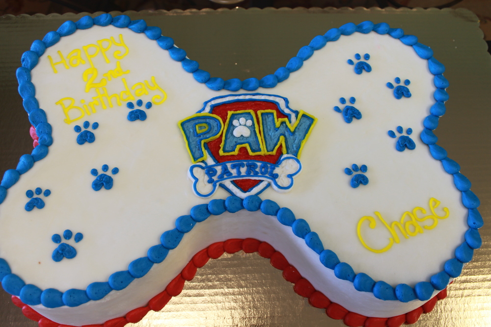 Paws On A Cake