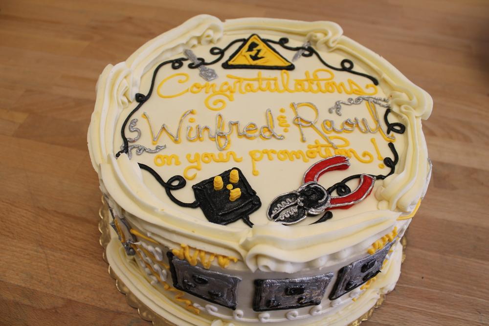 Promotion Celebration Cake