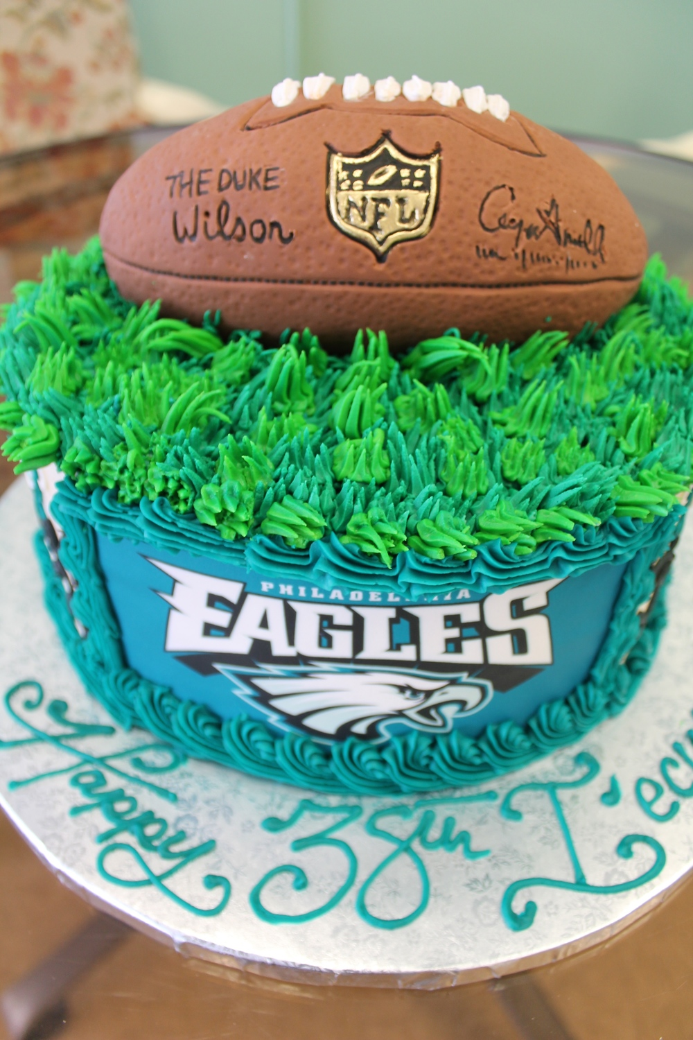 Turf and Football Birthday