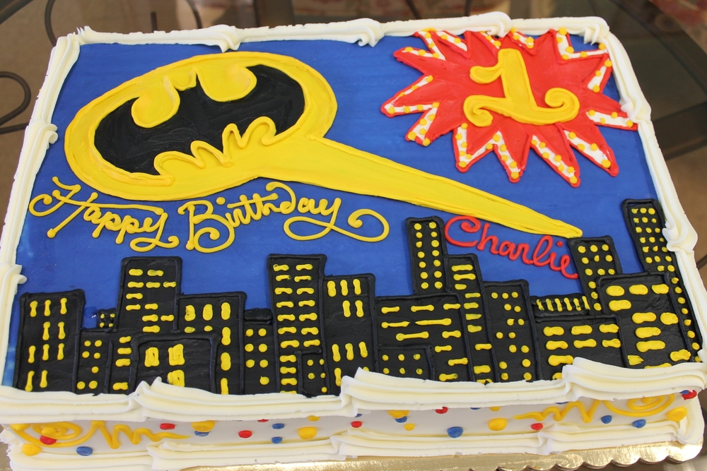 Batman 1st Birthday