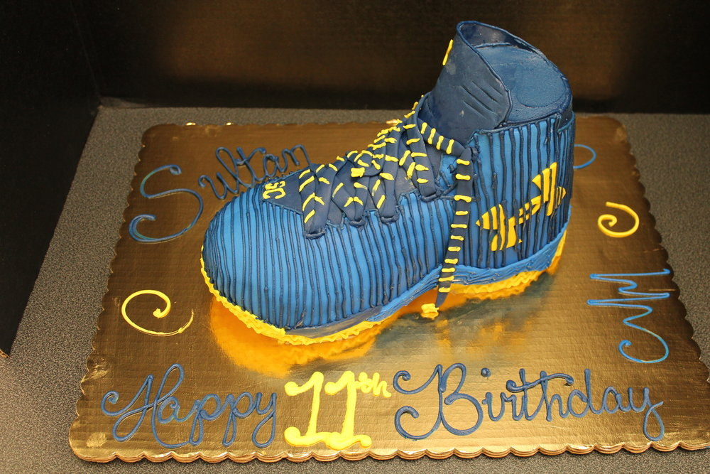 Sneaker For Sultan Birthday Cake
