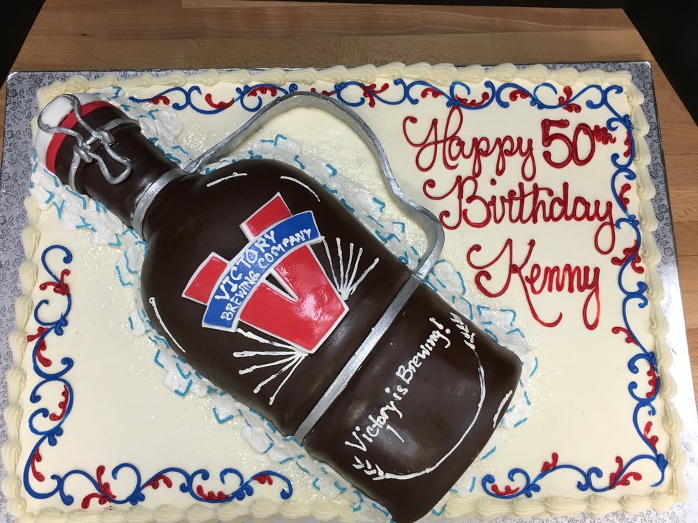 Victory Growler Birthday Cake