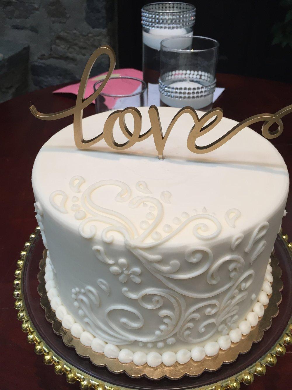 Gluten Free Addition Wedding Cake