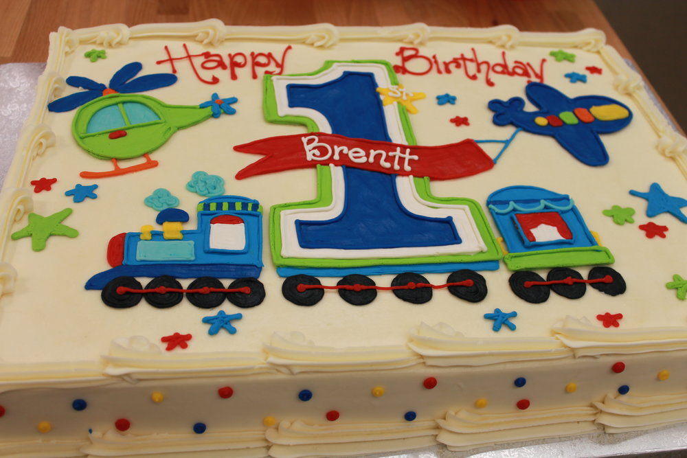 A Plane, Train and a Copter Birthday