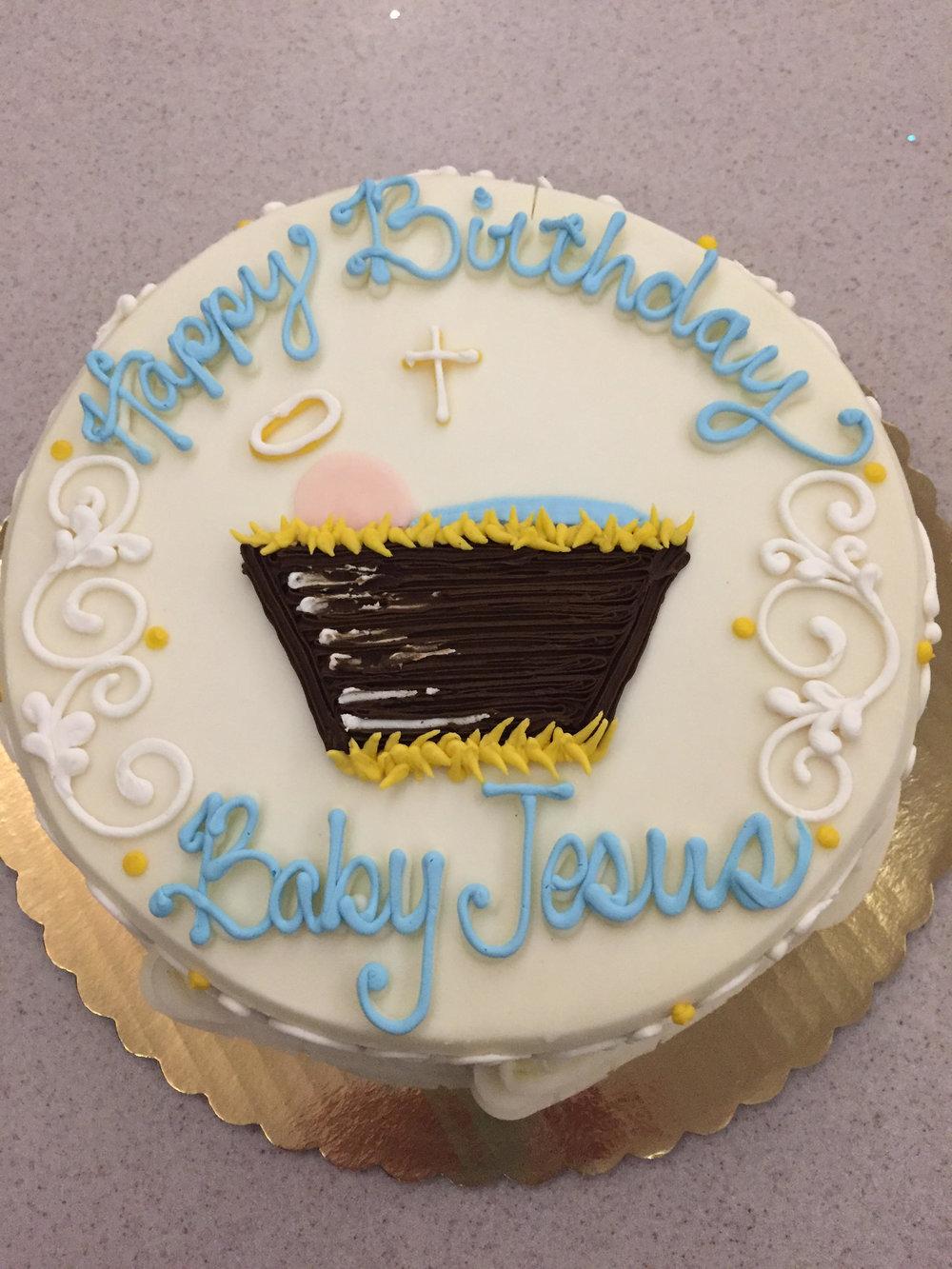 Happy Birthday Baby Jesus!