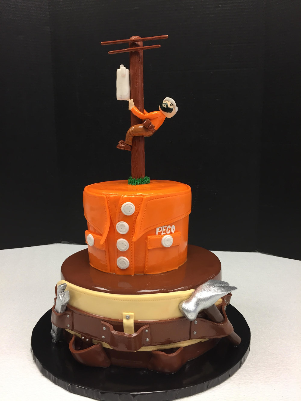 Just Another Day at Work Specialty Cake