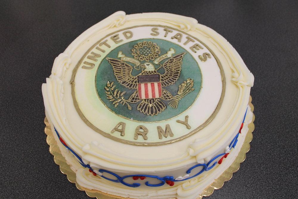 U. S. ARMY Celebration Cake
