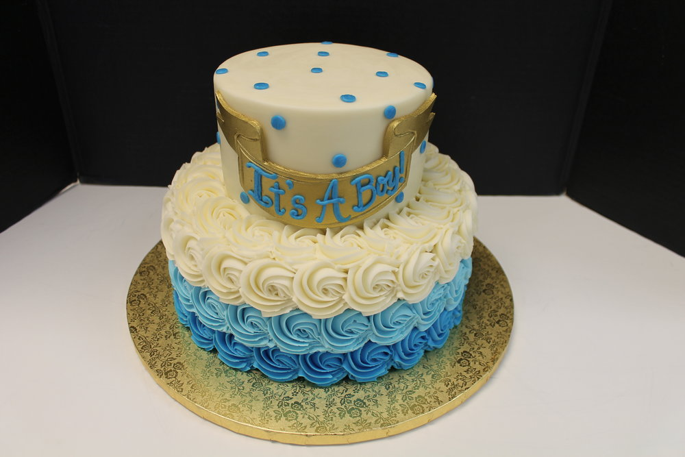 Blue and Gold for Baby Boy