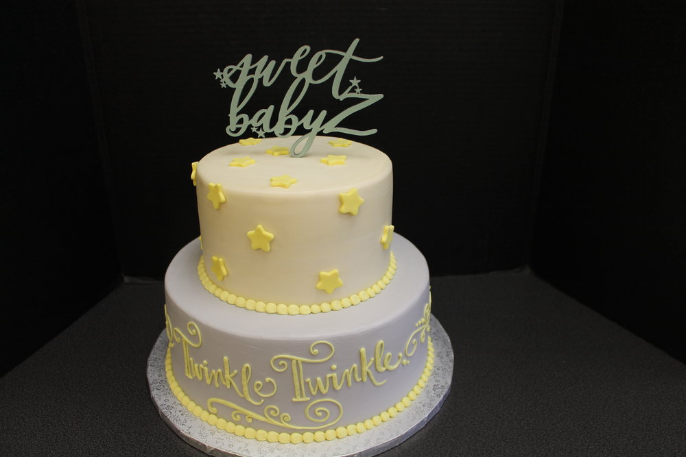 Yellow Stars for Baby