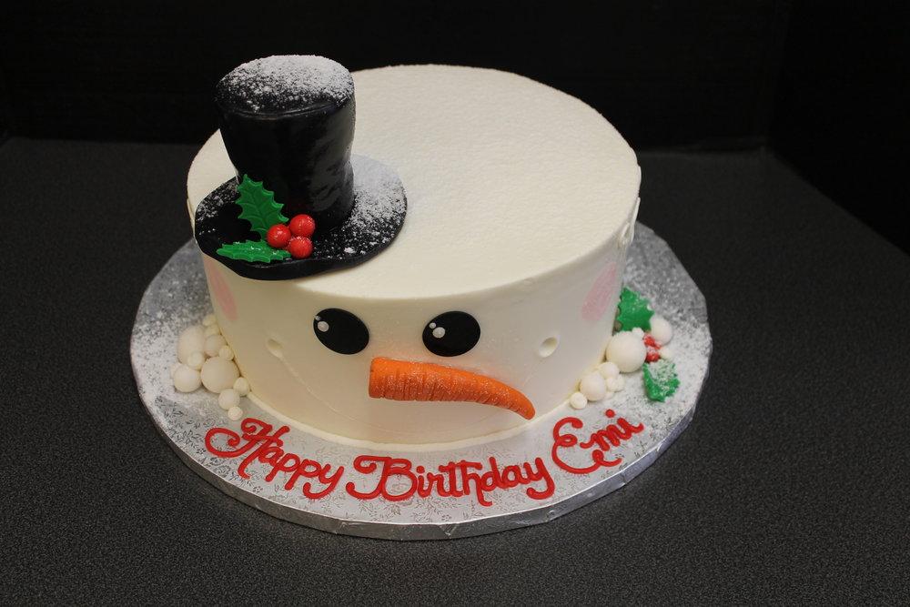 Snowman Birthday for Emi
