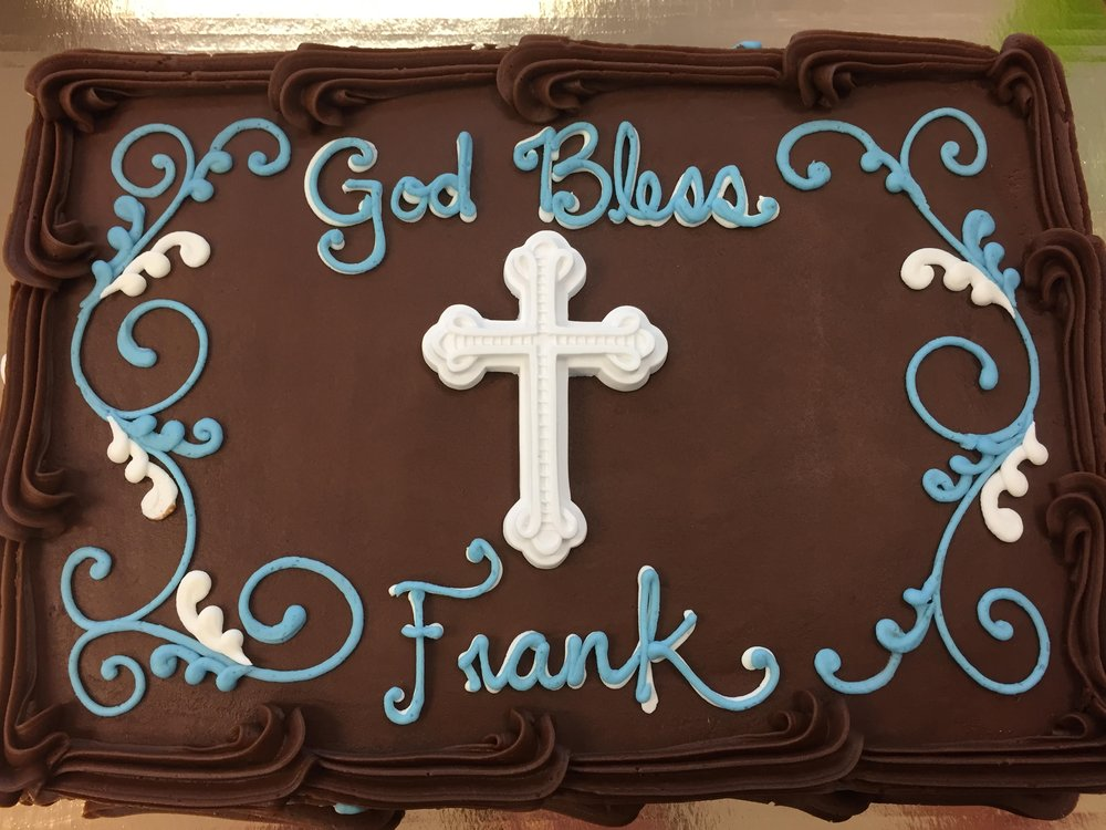 Gum Paste Cross Cake 207