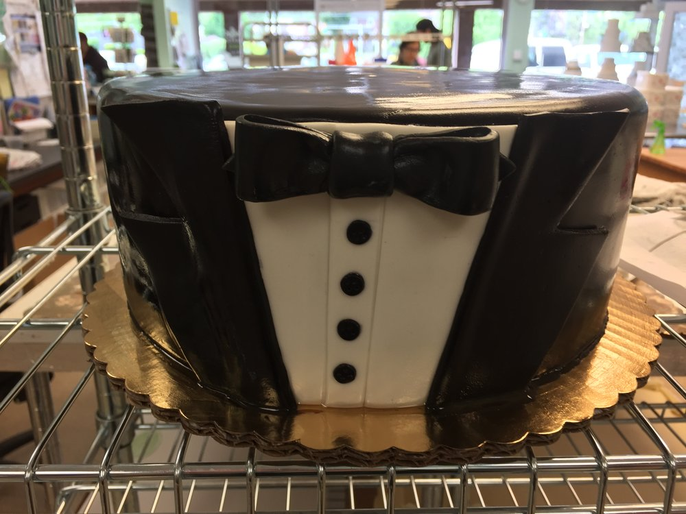 Black Tie with a Tux Cake