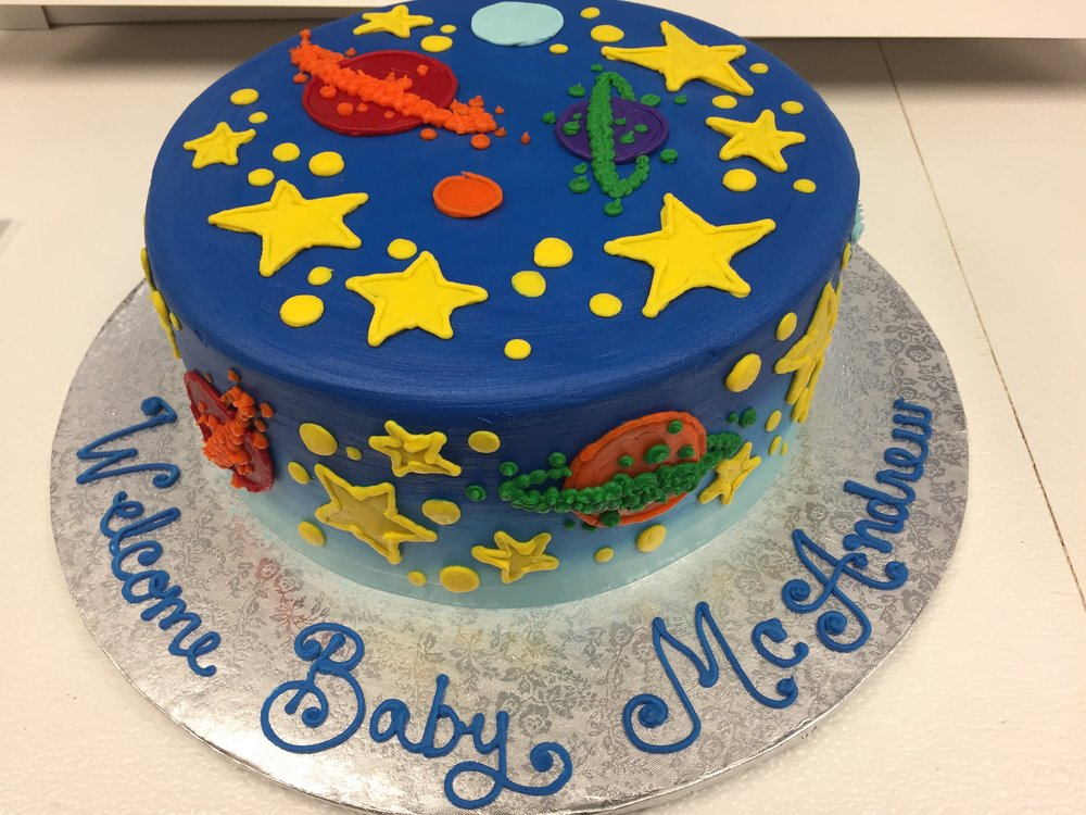 Space Theme for a Baby Shower
