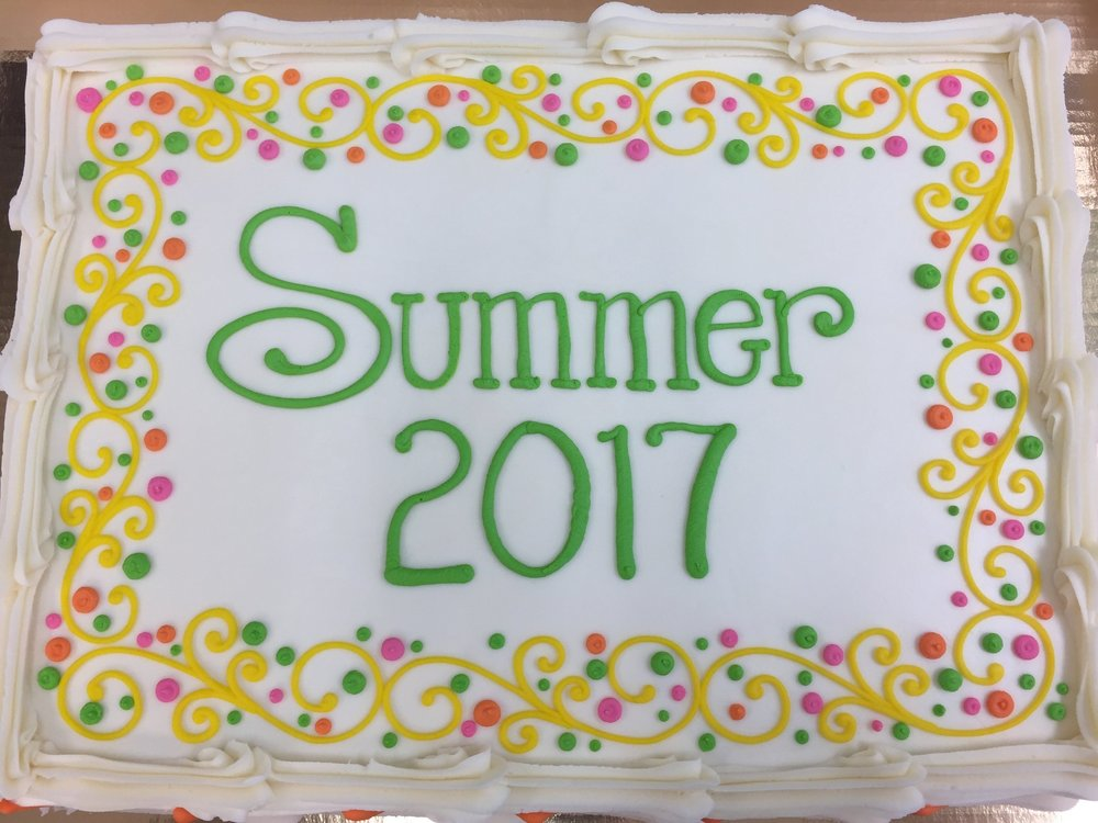 Summer Birthday Layer cake