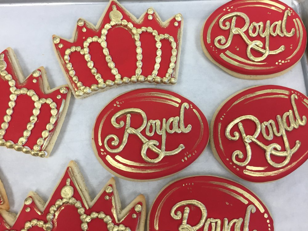 Regal Birthday Cookies