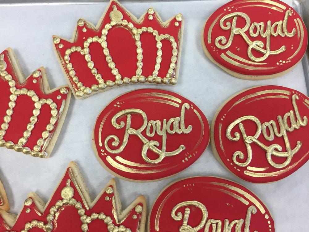 Regal Birthday Cookies