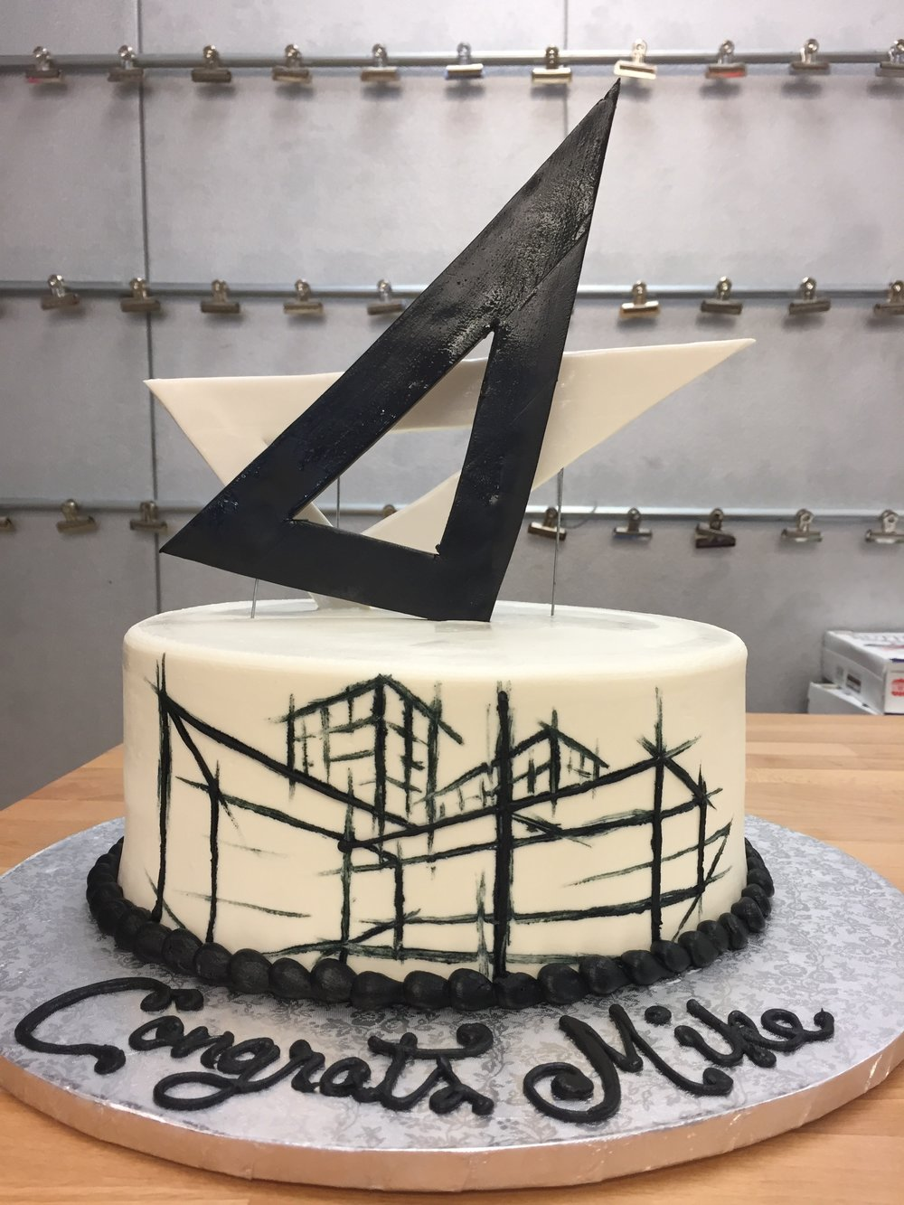 Architect Birthday Cake