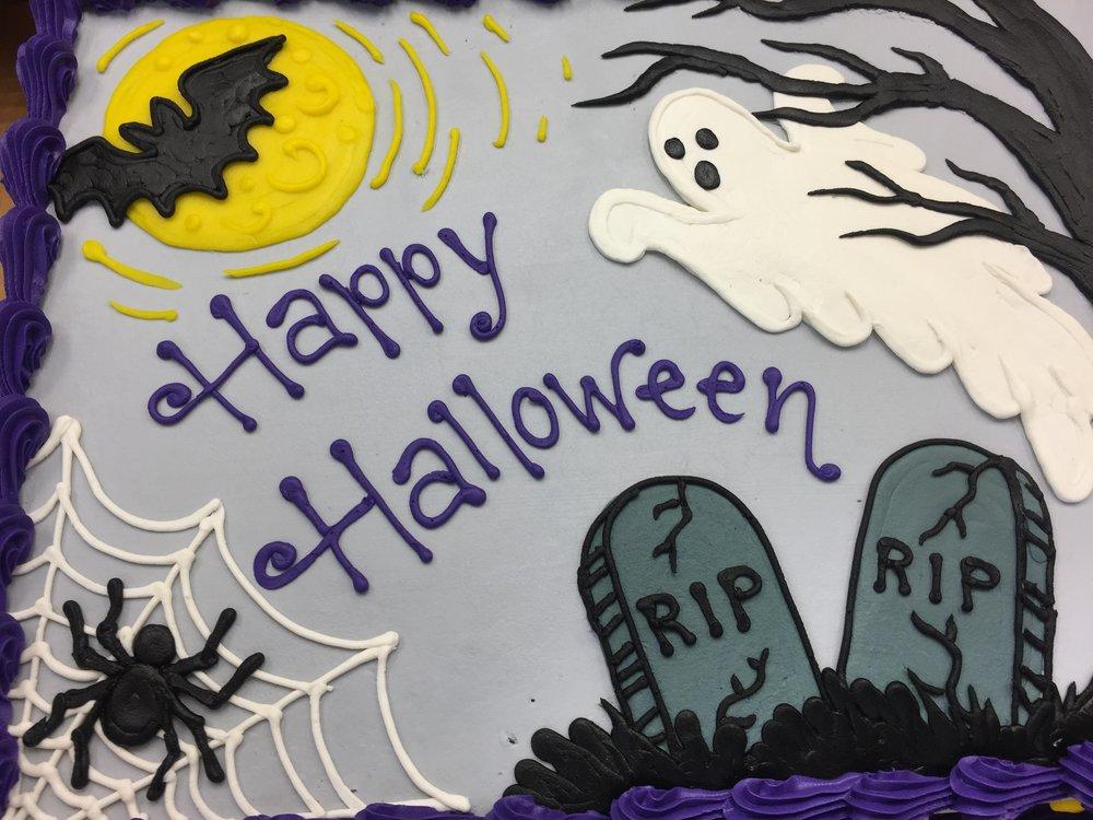 Happy Halloween Birthday Cake