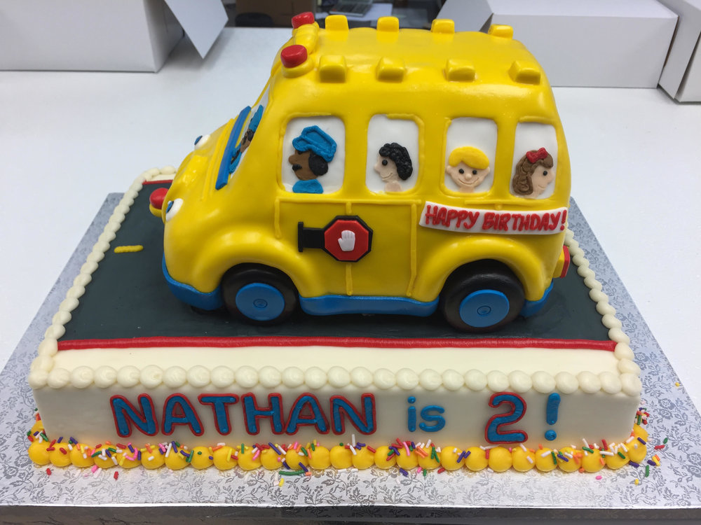 School Bus Birthday